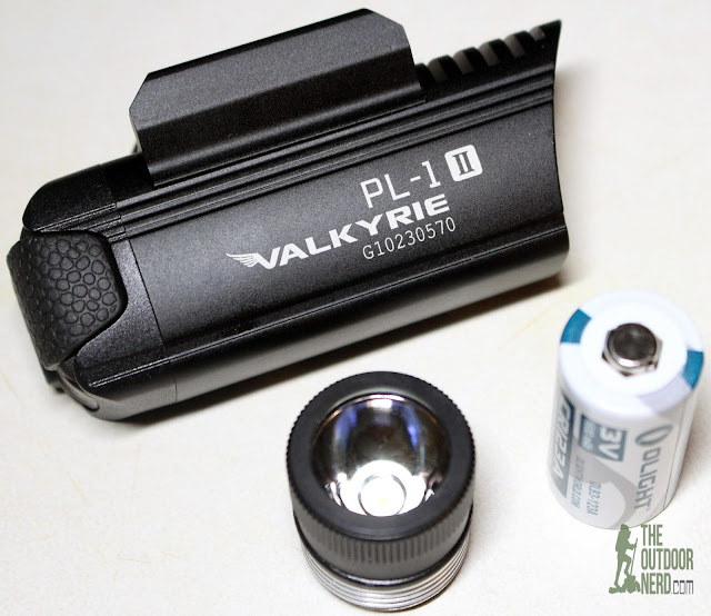 Olight PL-1 II Valkyrie Weapon Light - Product View 3