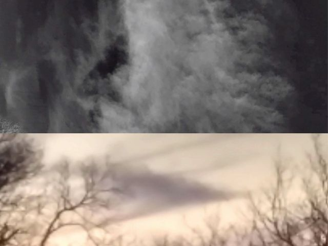 You can't believe it when you see This in the sky above the Earth  Strange%2Bclouds%2Bcloaked%2BUFOs%2B%25283%2529