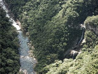 Cascata do Arroio Caçador, Parque da Ferradura, em Canela