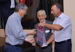 Autoridades do Japão receberam kits caiçaras em confraternização de bolsistas da JICA