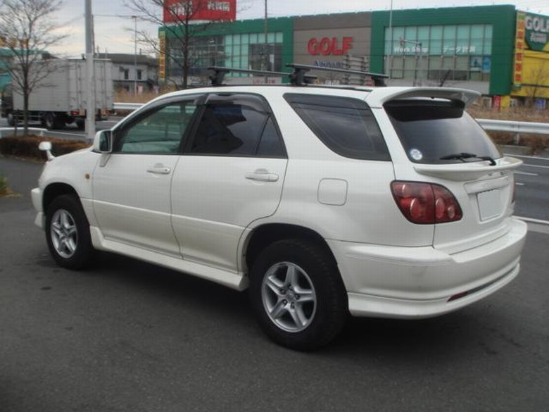 Toyota Harrier Old Model Oem Bodykit