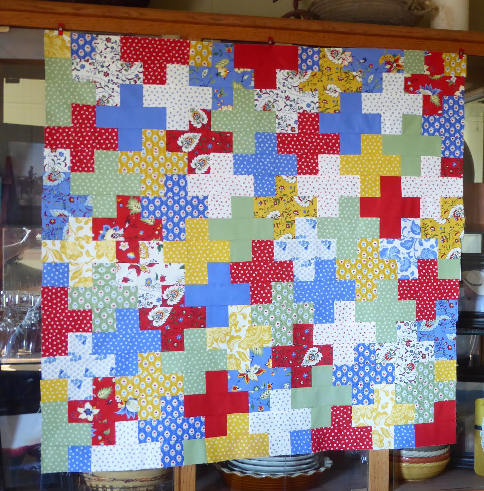 Lovin Life At The End Of The Dirt Road Plus Quilt Using A Jelly Roll