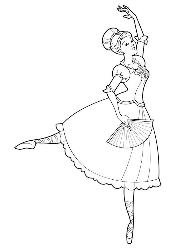 barbie nutcracker coloring pages coloring pages gallery