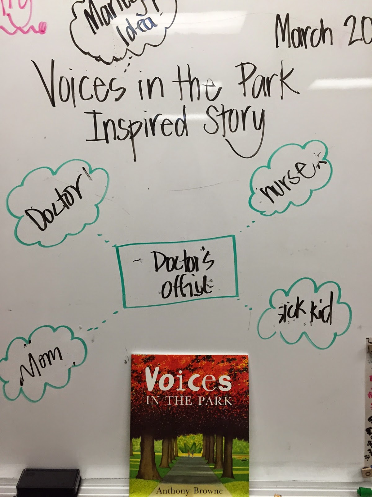 The Half Full Chronicles Mentor Text Voices In The Park