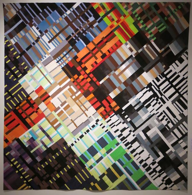 European Quilt Triennial - Farbenlabyrinth by Ruth Bosshart-Rohrbach