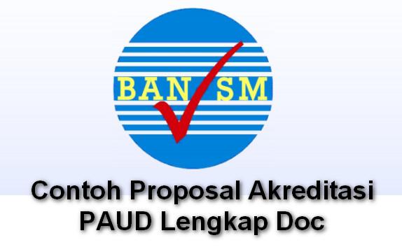 Contoh Proposal Akreditasi PAUD Lengkap Doc