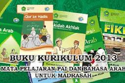 Download Buku Siswa dan Buku Guru Mapel PAI dan Bahasa Arab Kurikulum 2013 untuk MI
