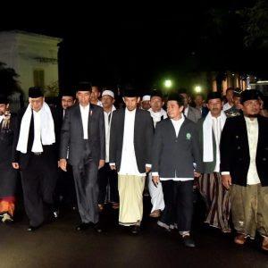Ulama Bogor Gelar Silahturahmi dengan Presiden Jokowi di Istana