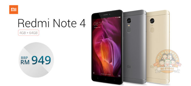 Redmi Note 4 - Click for more info