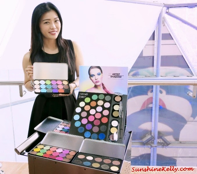 MAKE UP FOR EVER Artist Shadow, Make up for ever, artist shadow, new generation eye shadows, matte, satiny, metal, iridescent, diamond, Erika Saenz, Regional Education Manager South East Asia