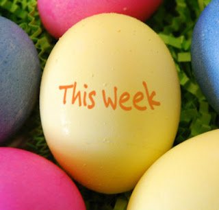 This Week @ Your Library... April 11-15, 2017 || colored egg image courtesy of imagechef.com