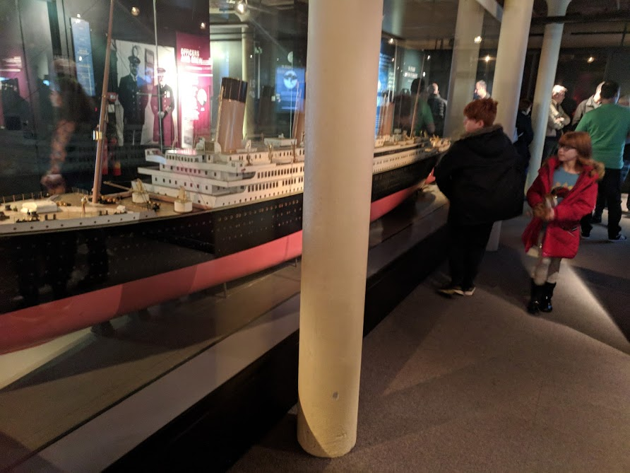 How to Spend 24 Hours in Liverpool with Tweens - Titanic model at Merseyside Maritime Museum