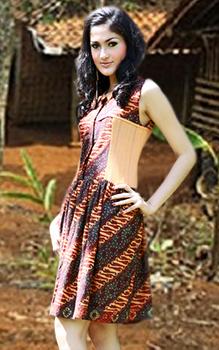 6 Inspirasi Model Rok Batik Kasual Terbaru