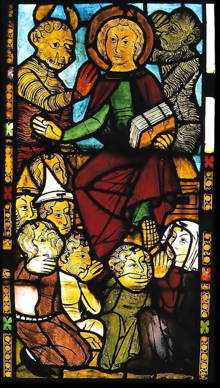 O Anticristo, igreja de Santa Maria, Frankfurt, Alemanha.j