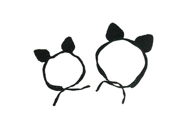 Orejas de gato de trícot