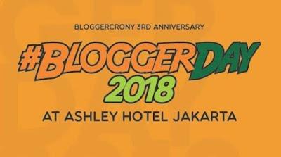 #BloggerDay2018
