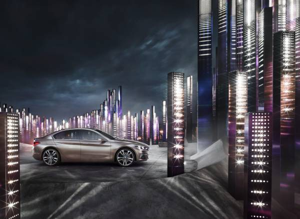 P90204824 lowRes BMW Concept Compact sedan ή μήπως σειρά 1 sedan; BMW, BMW Concept