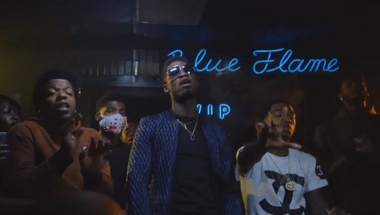 Travis Porter - Blue Flame (Feat. Bandit Gang Marco) [Vídeo]