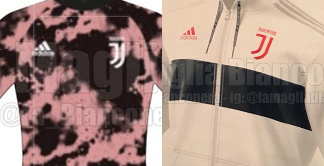 b411af9087b Kit Colors Confirmed  Adidas Juventus 19-20 Collection Leaked - 2 Training  Jackets + 2 Unique Pre-Match Jerseys