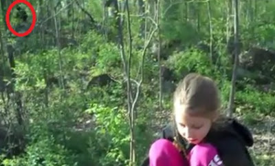 New Footage: Bigfoot Watching Little Girl Near Campsite (Updated)