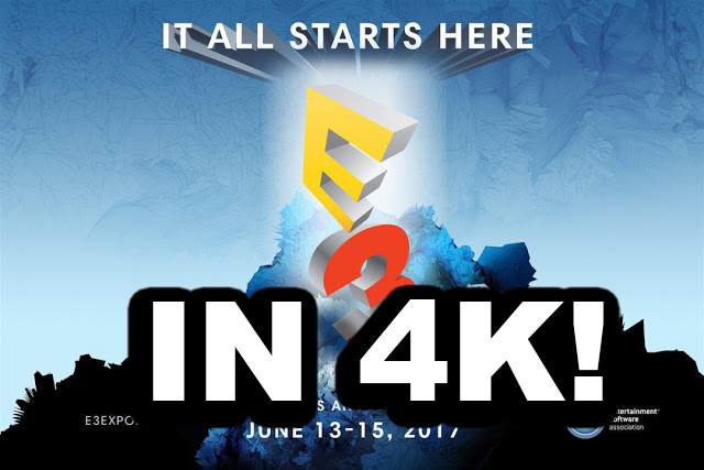 e3 2017 4k youtube live stream gamingtox