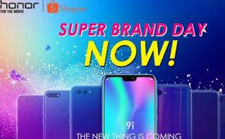 Honor Obral Device di Super Brand Day Shopee