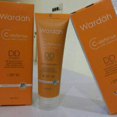 Produk Wardah C-Defense Dd Cream Di Femaledaily