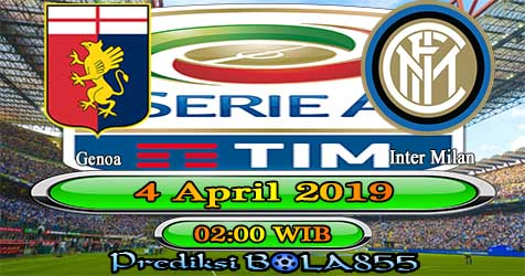 Prediksi Bola855 Genoa vs Inter Milan 4 April 2019