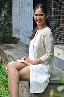 Radhika Cute Young New Actress in White Long Transparent Kurta ~  Exclusive Celebrities Galleries 049.JPG