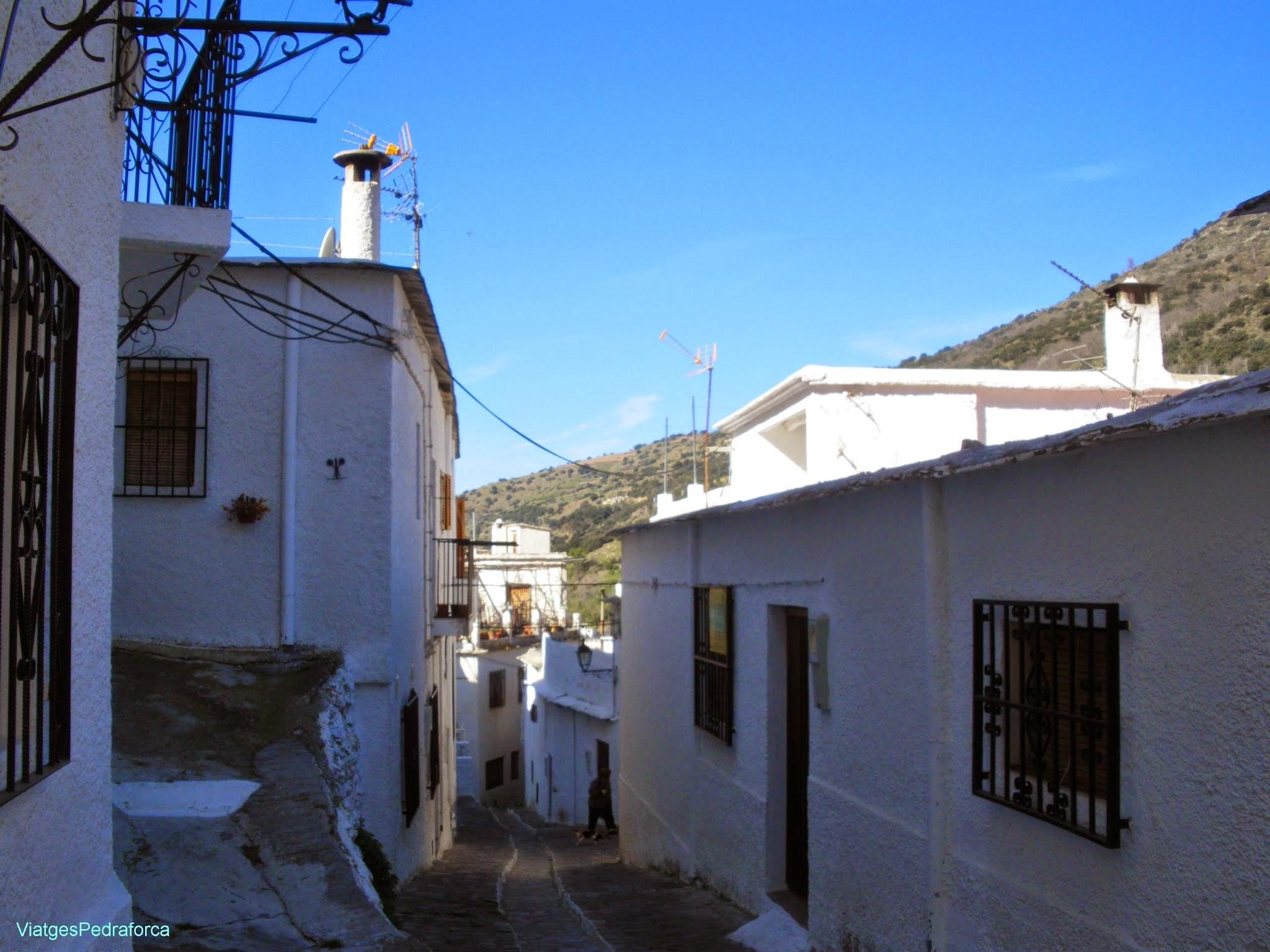 Pampaneira Alpujarra Granadina Barranco del Poqueira Sierra Nevada Andalucia
