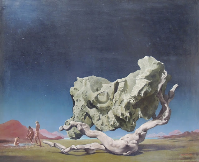 Jan Van der Loo surrealism Dalí