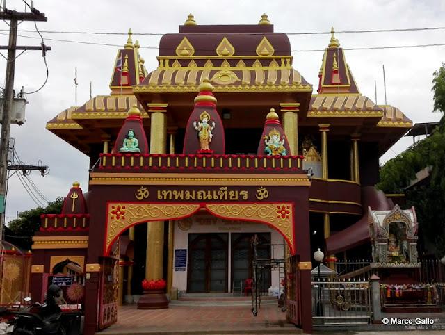 DEV MANDIR TEMPLO HINDÚ. CHIANG MAI. TAILANDIA