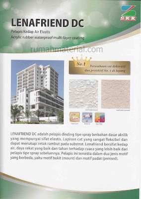 Waterproofing Elastis LENAFRIEND DC