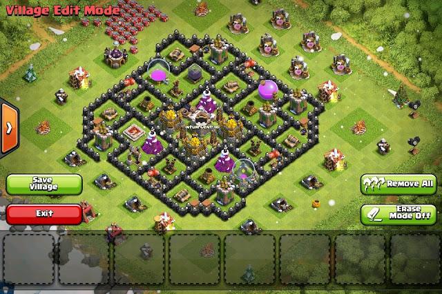 Advanced defense base clash of clans