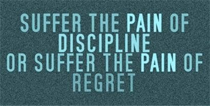Image result for THE PAINS OF DISCIPLINE
