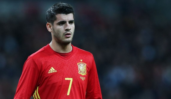 Spain international Alvaro Morata
