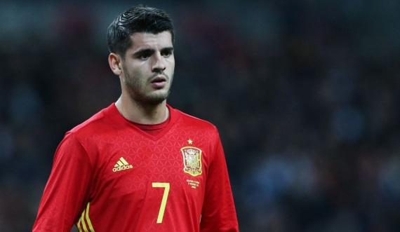 Spain international Alvaro Morata