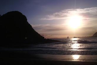 Sunset Tenang di Pantai Payangan