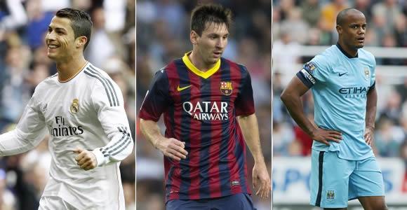 Sólo tres futbolistas en la lista de Personalidades más influyentes del fútbol mundial