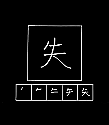 kanji kehilangan
