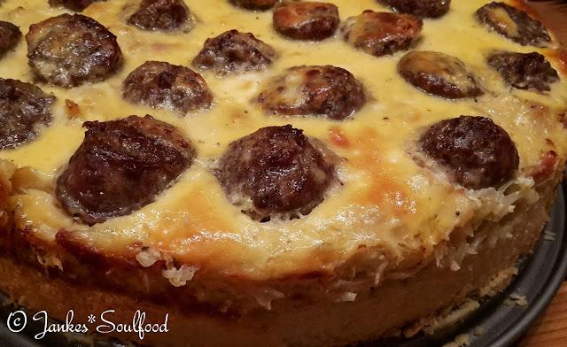Sauerkraut Quiche von Jankes*Soulfood