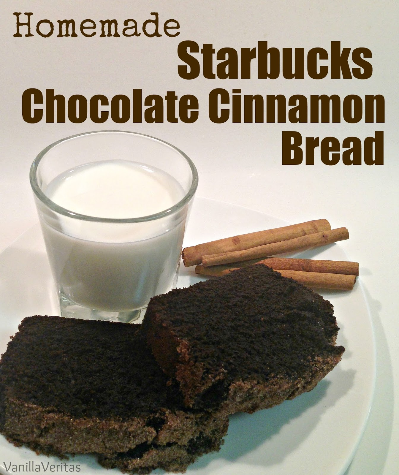 starbucks | chocolate cinnamon bread | chocolate | cinnamon | dessert | bread | pastry | copycat | dupe | homemade | recipe | coffee | coffeehouse | snack | cake | baked goods