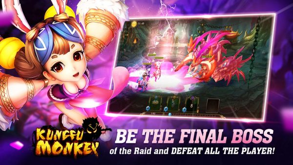 Kungfu Monkey Global v1.5.0 Apk MOD (Massive Damage)