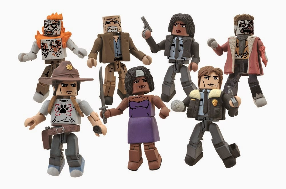 The Walking Dead Minimates serie 6