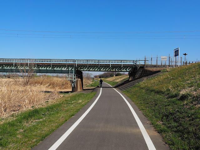 入間川自転車道 川越線