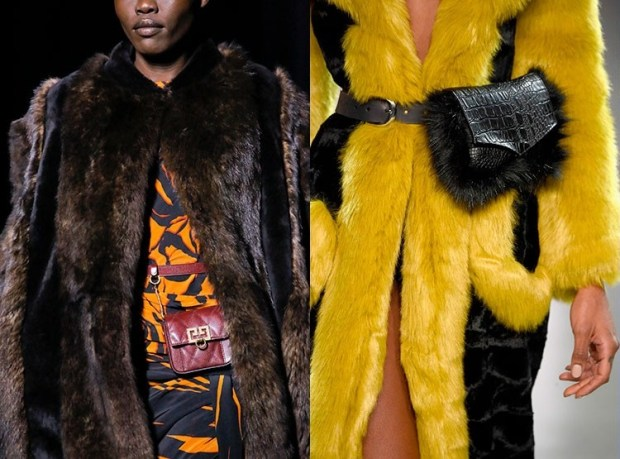Fall-Winter 2018-2019 Women's Leather Waist Fashion Trends