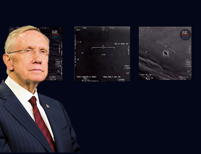 Fmr Senator Harry Reid Wants UFO Research Made Public