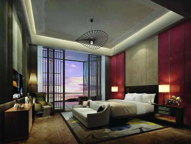 phòng ngủ của căn hộ dự án la luna
