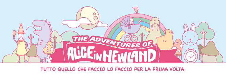 "Le avventure di ""Alice in Newland""."