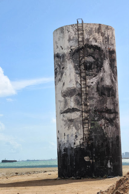 Street Art By Borondo For The Festival Concreto On The Beach Of Fortaleza, Brazil. 3